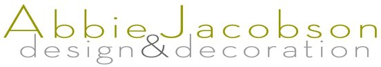 Abbie Jacobson design & decoration